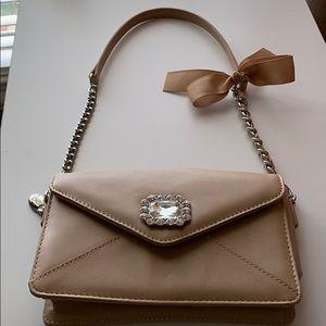 Tan My Flat in London purse